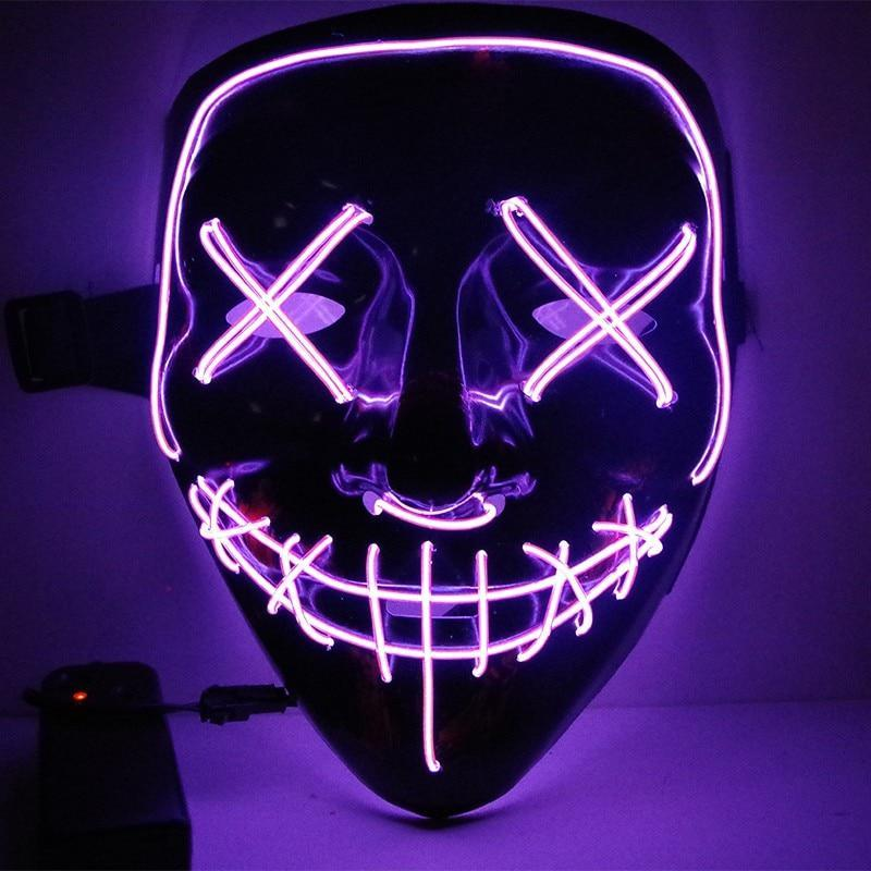 Woofpo The Purge LED Mask