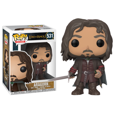koolaz-ltd - Lord of the Rings - Aragorn Pop! Vinyl Figure - Funko - Pop Vinyl