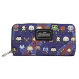 koolaz-ltd - Loungefly x Marvel Avengers Infinity War: Kawaii Print - Zip-Around Wallet - Loungfly - Zip Wallet