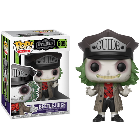 koolaz-ltd - Beetlejuice - Beetlejuice with Guide Hat Pop! Vinyl Figure - Funko - Pop Vinyl