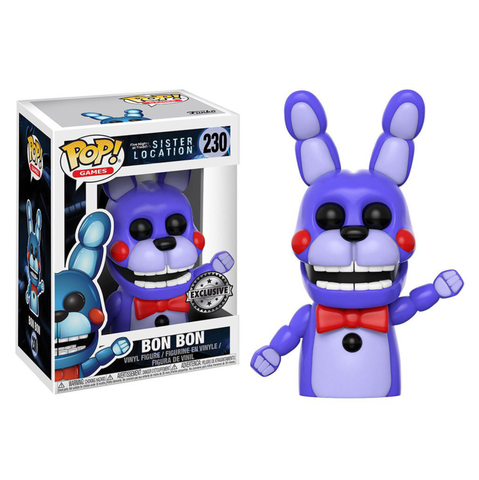 koolaz-ltd - Five Nights at Freddy's: Sister Location - Bon Bon Pop! Vinyl Figure Exclusive - Funko - Pop Vinyl