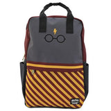 Loungefly x Harry Potter Glasses Stripes Backpack