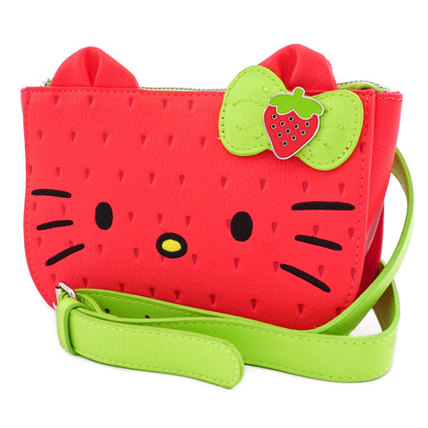 Loungefly x Hello Kitty - Strawberry Faux Leather Waist Bag