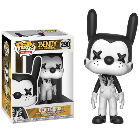 koolaz-ltd - Bendy and the Ink Machine - Dead Boris Pop! Vinyl Figure - Funko - Pop Vinyl