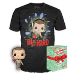 Die Hard - Jon McClane Pop! & Tee Colletors Box Set