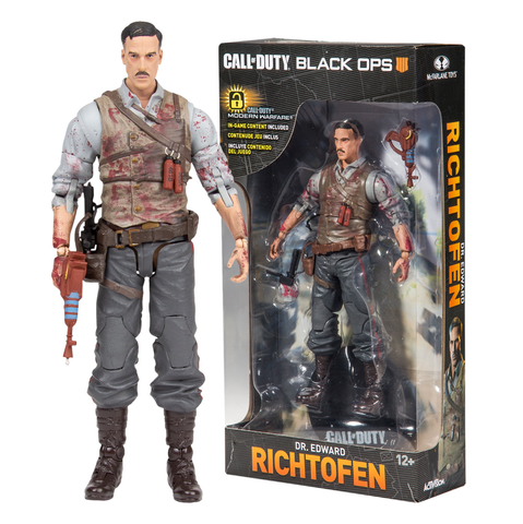 "koolaz-ltd - Call of Duty - Dr. Edward Richtofen 7"" Action Figure - McFarlane - Figure"