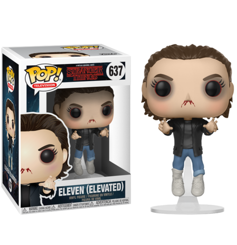 koolaz-ltd - Stranger Things - Eleven Elevated Pop! Vinyl Figure - Funko - Pop Vinyl