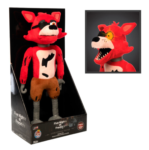"koolaz-ltd - Five Nights at Freddy's - Foxy Animatronic 12"" Motion Sensor Plush - Funko - Animatronic"