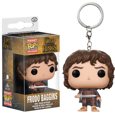 koolaz-ltd - Lord of the Rings - Frodo Baggins Pocket Pop! Keychain - Funko - Keychain