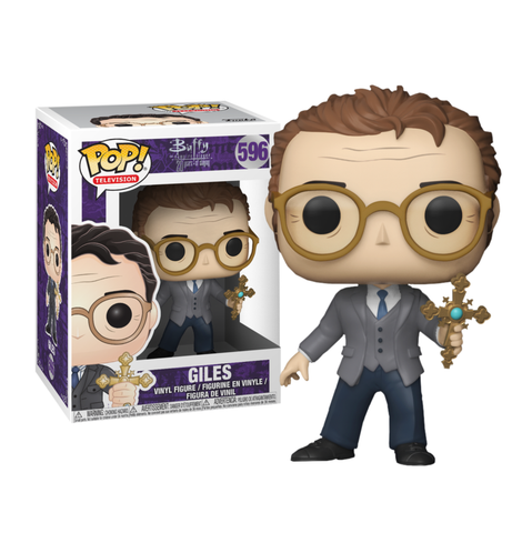 koolaz-ltd - Buffy the Vampire Slayer - 20th Anniversary Giles Pop! Vinyl Figure - Funko - Pop Vinyl