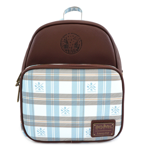 koolaz-ltd - Loungefly x Harry Potter Hogwarts Plaid Convertible Backpack - Loungfly - Backpack