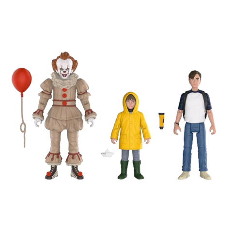 koolaz-ltd - IT (2017) - Pennywise, Georgie & Bill Action Figure 3-Pack - Funko - Figure