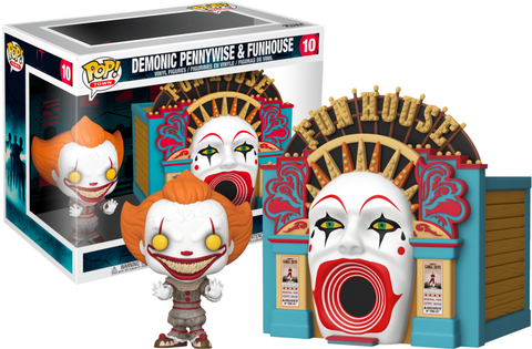 It: Chapter Two - Demonic Pennywise with Funhouse Pop! Town Vinyl Figure