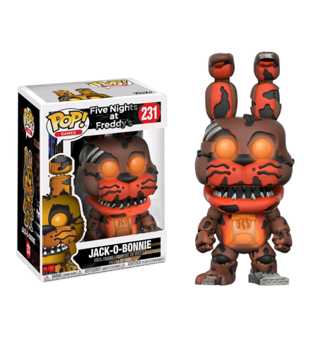 koolaz-ltd - Five Nights at Freddy's - Jack-O-Bonnie Glow in the Dark Pop! Vinyl Figure - Funko - Pop Vinyl
