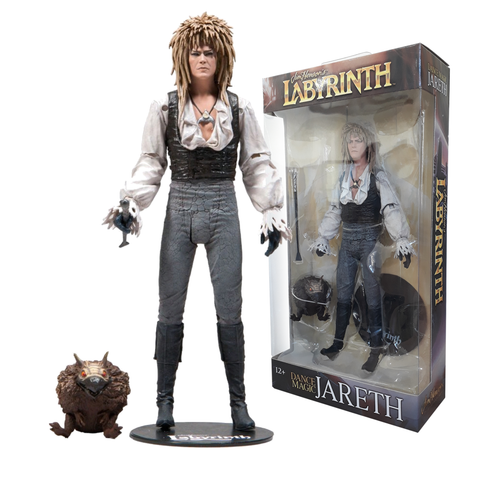 "koolaz-ltd - Labyrinth - Jareth in Magic Dance Outfit 7"" Action Figure - McFarlane - Figure"