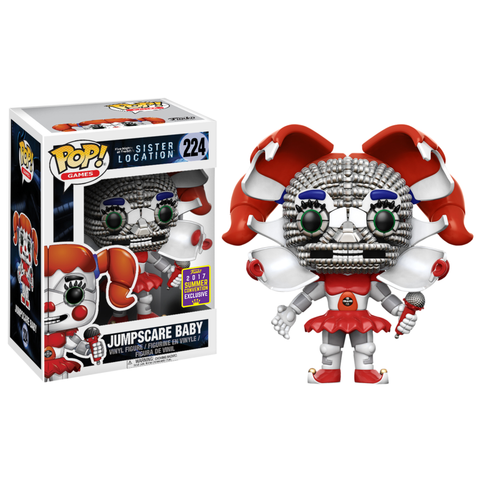koolaz-ltd - Five Nights at Freddy's: Sister Location - Jumpscare Baby Pop! Vinyl Figure (2017 Summer Convention Exclusive) - Funko - Pop Vinyl