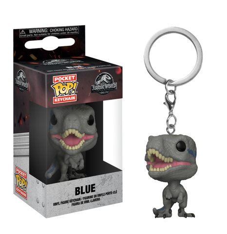 koolaz-ltd - Jurassic World: Fallen Kingdom - Blue Pocket Pop! Keychain - Funko - Keychain