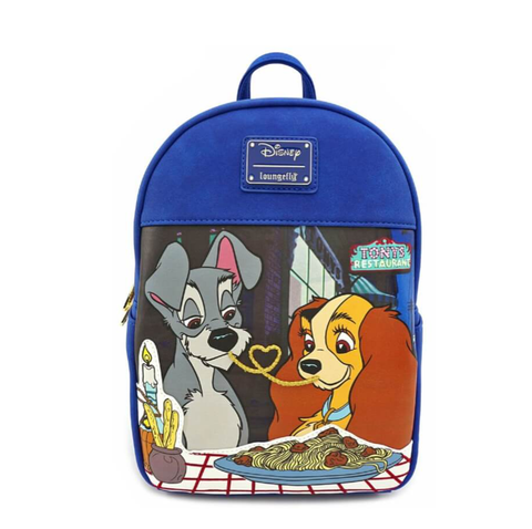 Loungefly X The Lady and The Tramp Mini Backpack