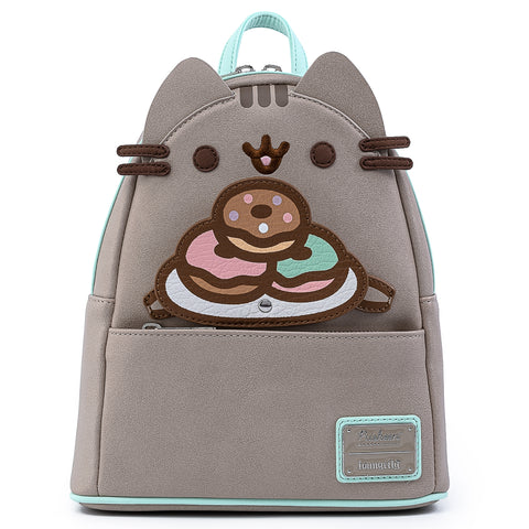 Loungefly x Pusheen Plate-O-Donuts Cosplay Mini Backpack
