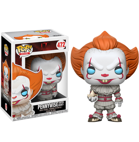 koolaz-ltd - IT (2017) - Pennywise with Boat Pop! Vinyl Figure - Funko - Pop Vinyl