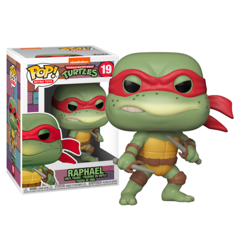 Teenage Mutant Ninja Turtles (1990) - Raphael Pop! Vinyl Figure