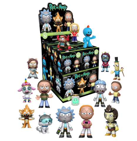 koolaz-ltd - Rick and Morty - Mystery Mini Blind Box - Funko - Mystery Mini