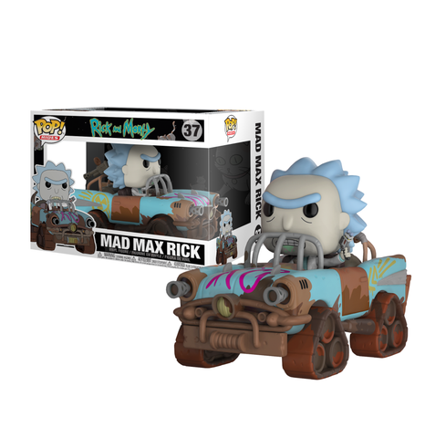 koolaz-ltd - Rick and Morty - Mad Max Rick Pop! Ride Vinyl Figure - Funko - Pop Vinyl