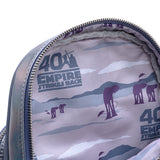 Loungefly X Star Wars The Empire Strikes Back 40th Anniversary Hoth Iridescent Quilted Mini Backpack