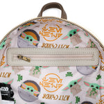 Loungefly X Star Wars: The Mandalorian The Child (Baby Yoda) Cradle Mini Backpack