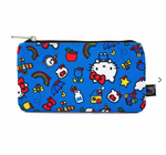 Loungefly x Hello Kitty 45th Anniversary AOP Nylon Cosmetic Pouch
