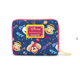 Disney X Loungefly Three Caballeros Zip Around Wallet