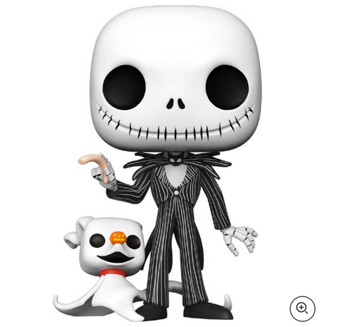 Disney Nightmare Before Christmas Jack with Zero 10-Inch Pop! Vinyl Figure