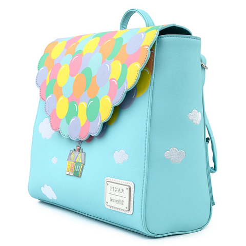 Loungefly x Pixar Up Balloon House Flap Mini Backpack