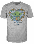 Be Mine Yoda - Star Wars Funko Loose Pop! Tee