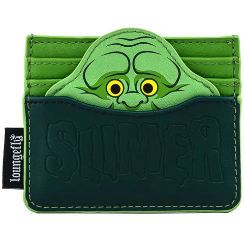 Loungefly x Ghostbusters Slimer Card Purse