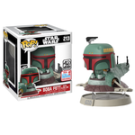 koolaz-ltd - Star Wars - Boba Fett in Slave 1 40th Anniversary Deluxe Pop! Vinyl Figure (2017 Fall Convention Exclusive) - Funko - Pop Vinyl