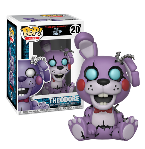 koolaz-ltd - Five Nights at Freddy's: The Twisted Ones - Theodore Pop! Vinyl Figure - Funko - Pop Vinyl