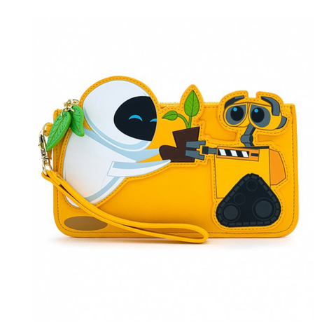 Loungefly X Disney WALL-E And Eve Plant Boot Purse