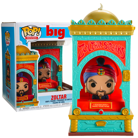 "Big (1988) - Zoltar 6"" Super Sized Pop! Vinyl Figure"