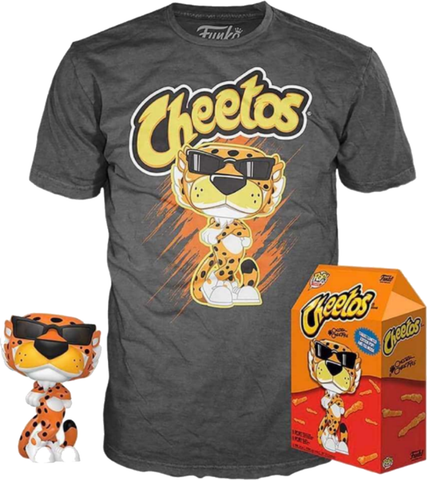 Cheetos - Chester Cheetah  Pop! & Tee Exclusive Collectors Box Set