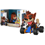 Crash Team Racing: Nitro-Fueled - Crash Bandicoot in Go-Kart Pop! Rides Vinyl Figure