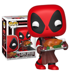 Deadpool - Deadpool with Turkey Christmas Holiday Pop! Vinyl Figure