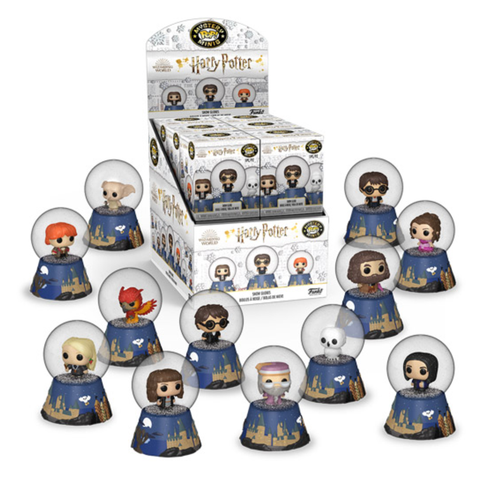 Harry Potter - Holiday Snow Globes Mystery Minis Blind Box (Single Unit)