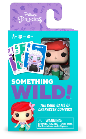 Something Wild Card Game Disney The Little Mermaid