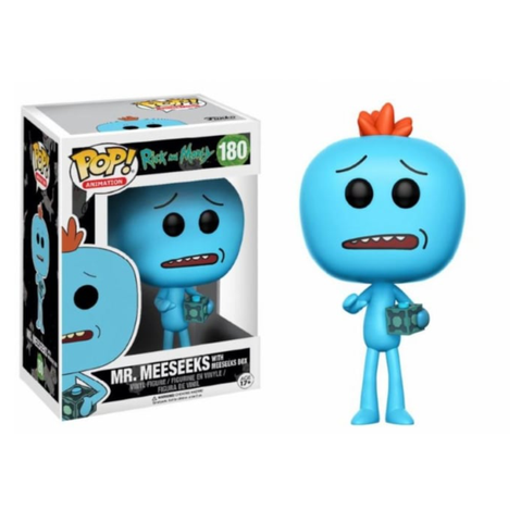 koolaz-ltd - Rick & Morty - Mr. Meeseeks with Meeseeks Box Pop! Vinyl Figure - Funko - Pop Vinyl