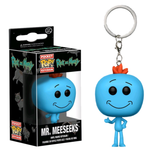 koolaz-ltd - Rick and Morty - Mr Meeseeks Pocket Pop! Vinyl Keychain - Funko - Keychain