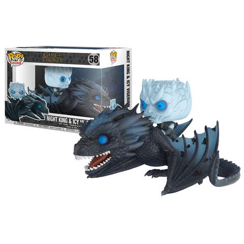 Game of Thrones - Night King with Viserion Pop! Ride Vinyl Figure