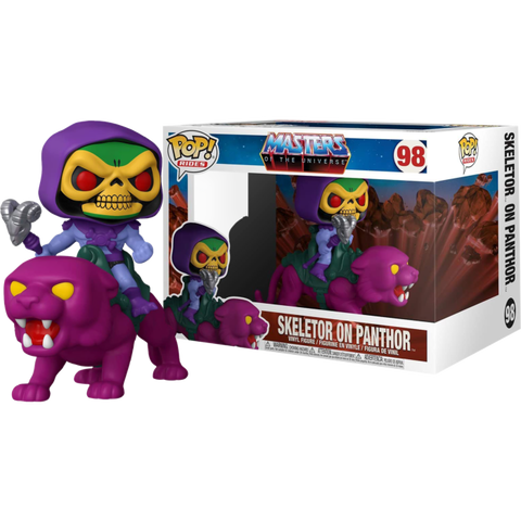 Masters of the Universe - Skeletor on Panthor Pop! Rides Vinyl Figure