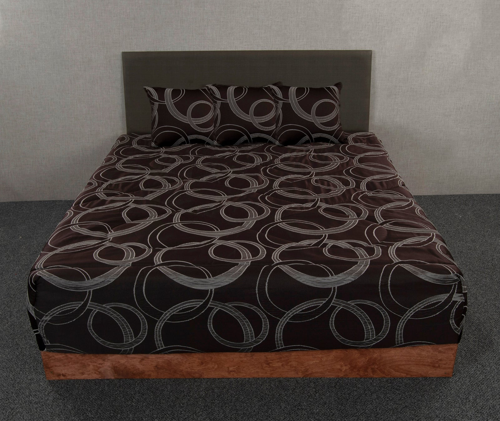 Luna Espresso Fitted Bedspread