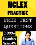 NCLEX Saunders 3,000 Question Review